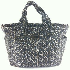 Marc Jacobs Baby Bags: Marc Jacobs Outlet Nylon Eliz-a-Baby Bag Blue