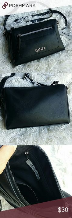 """Kenneth Cole crossbody purse Brand new Kenneth Cole crossbody purse with adjustable strap.  Zipper compartment on the outside and a small one on the inside. 9""""L x 6""""H x 2""""W Kenneth Cole Reaction Bags Crossbody Bags"""
