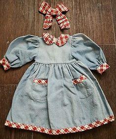 Puppenkleid-Nostalgie-Puppe-Kuenstlerpuppe-Sammlerpuppe-36-cm-lang