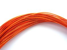 Mizuhiki Japanese Decorative Paper Strings Cords Metallic Orange