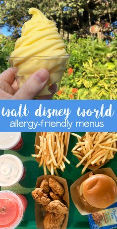 Walt Disney World Allergy Friendly Menus #theurbenlife #dairyfree #eggfree #soyfree #glutenfree #nutfree #allergyfree #allergyfriendly #lactoseintolerant