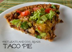 Ground Beef Taco Pie Recipe