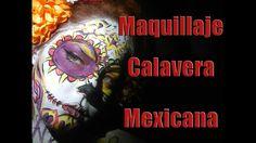 Maquillaje Calavera Mexicana Halloween