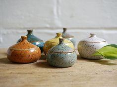 Little trinket or spice jars
