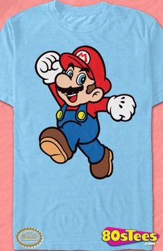 6d97ab5f7 Jump Pose Super Mario Bros. Geeks: Enjoy the comfort of home or travel the