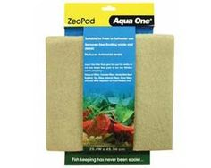 The Aqua One Zeo Pad is a tightly woven chemical filter pad which absorbs ammonia from your aquarium. When introduced into your filtration system, Zeo Pad reduces the risk of ammonia (NH3) toxicity in turn reducing the risk of disease and stress on fish ensuring crystal clear water. Zeo Pad does not substitute for good aquarium keeping practices.   PRICE-11 $