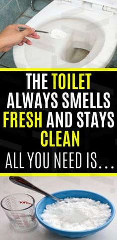 It doesn't require much and the benefits of a clean, sanitary, and fresh scented bowl far outweigh the minimal effort this takes. This homemade toilet cleaner will make odors and grime a thing of the past!   #toilet #smellfresh #clean#hometricks