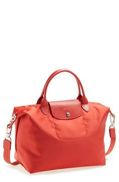 Longchamp \u0026#39;Le Pliage - Medium Neo\u0026#39; Top Handle Tote available at #Nordstrom