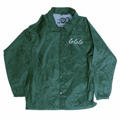 CROSS COACH JACKET GREEN ($90) ❤ liked on Polyvore featuring outerwear, jackets, tops, coats, green jacket and coach jacket