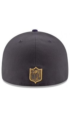 870f7dd78 NFL Men s Baltimore Ravens New Era Graphite Purple Gold Collection On Field  59FIFTY Fitted Hat