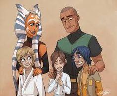 Ahsoka, introduces Luke and Leia to Rex and Ezra