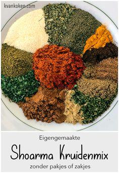 Dutch Recipes, Lamb Recipes, Clean Recipes, Snack Recipes, Tempeh, Tofu, Homemade Spices, Homemade Seasonings, Food Change