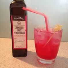 """New cocktail- Using Balsamic Vinegar in cocktails- """"Whoo hoo on a Beach""""- YIAH"""