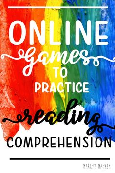Online Games to Practice Reading Comprehension - Marcy's Mayhem