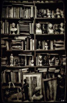 "nelsoncarpenter:  granosdegranada:Photography by dasTOK ""A man's library is a sort of harem."" — Ralph Waldo Emerson"