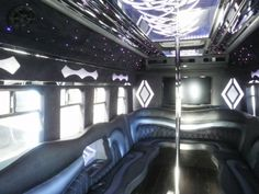 2004 White International 22 passenger Newly Converted Party Bus Stock 2423