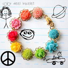 Color Wheel Bracelet