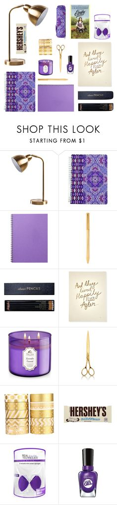 """""""Desk #1"""" by latviandancer ❤ liked on Polyvore featuring interior, interiors, interior design, home, home decor, interior decorating, Vera Bradley, Louis Vuitton, Sloane Stationery and Katie Leamon"""