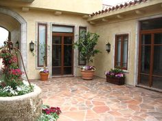 Patio Tuscan Italian Terra Cotta Design, Pictures, Remodel, Decor and Ideas - page 3