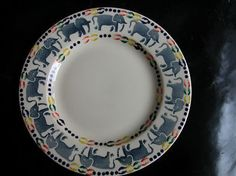 Emma Bridgewater Elephants 8.5 inch Plate dated 1993
