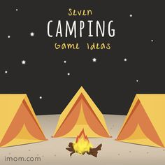 Get your kids excited to be in nature with these seven camping game ideas!