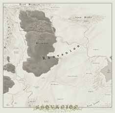 Detailed map middle earth hobbit from the lonely mountain and middle earth maplargerfantasy gumiabroncs Choice Image