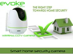 Evoke hi tech provide best wireless cctv camera for home security, Office security and many more. With Evoke CCTV Camera you can do many things possible. Wireless Cctv Camera, Wireless Security Cameras, Smartphone, Smart Home Security, Security Cameras For Home, Cctv Camera For Home, Ergonomic Mouse, Remote, Software