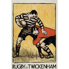 awesome Rugby poster.. I want one for my future basement bar! #rugby #art #poster