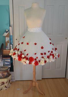 Diaphanous Flower Dress, Part One