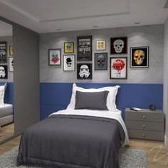 Fine Decorar Quarto Jovem Rapaz that you must know, Youre in good company if you?re looking for Decorar Quarto Jovem Rapaz Room Decor For Teen Girls, Boys Bedroom Decor, Zen Room, Home Office Decor, Home Decor, Bed Design, Regina Mills, Bernardo, Check