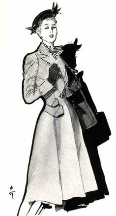 Rene Gruau, 1946