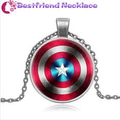 United States captain mark silver necklace for women men Jewelry