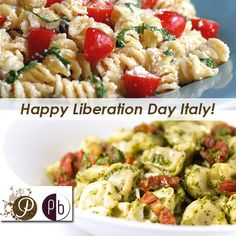Liberation Day is a national holiday in Italy that is annually celebrated on April marking the fall of Mussolini's Italian Social Republic and the end of the Nazi occupation in Italy in Liberation Day, Italy Holidays, National Holidays, April 25, Spring Is Here, Pasta Salad, Fall, Ethnic Recipes, Autumn