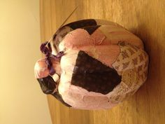 Pink pattern pumpkin......$14.99 Tatteredcreek@comcast.net