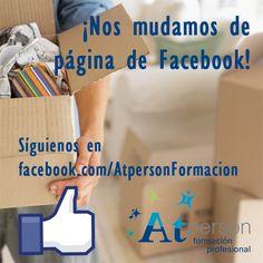 ¡Nos mudamos de página Facebook! ¡Siguenos en la nueva para seguir enterándote de todas nuestras ofertas y novedades! https://www.facebook.com/AtpersonFormacion