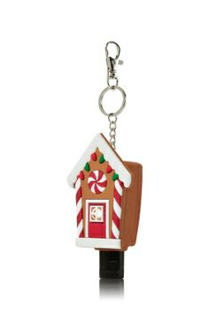 Gingerbread House PocketBac Light Up Keychain - Bath & Body Works   - Bath & Body Works