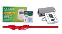 Combo offer: Glucometer + BP Machine - Save 34%  One Touch Select Simple Glucometer + Omron BP Machine 7113 Combo Buy Now: http://www.buydirekt.com/one-touch-select-simple-meter-omron-bp-machine-combo