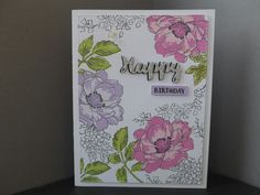 Card made using Altenew Beautiful Day stamp set