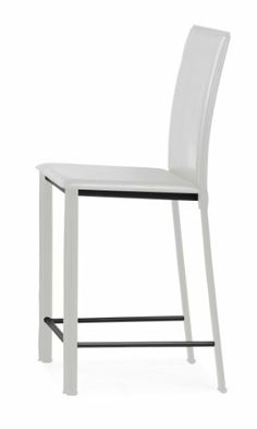 Zuo Arcane Counter Chair White (set of 2) by zuo. $276.00. Leatherette. Style Modern. Material Leatherette. Length 17. Width 16. This elegant chair combines class, style, and a touch of modern lines for a very clean look.  With three distinct colors and an easy to clean leatherette finish, the Arcane Chair is a perfectly balanced chair.