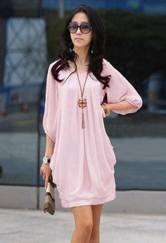 Sexy Short Summer Dresses 2014 | 2014 fashion Hot Short Sleeve Summer Sexy womens Chiffon Casual ...