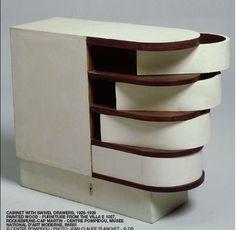 Furniture design by Eileen Gray (1878 - 1976)