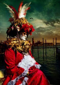Venice Carnival by Suchet Suwanmongkol