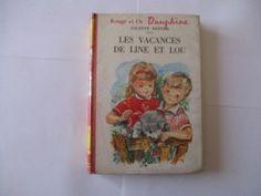 livre poche les vacances de line et lou 1965