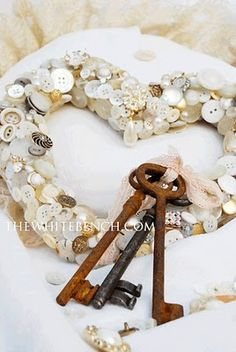 11 Button Wreath Craft Holiday Decorations | HubPages
