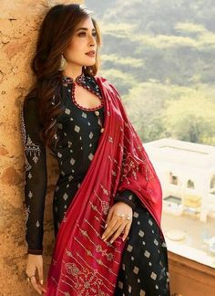 And Red Embroidered Pant Suit – You can find Designer dresses and more on our website.Black And Red Embroidered Pant Suit –Black And Red Embroidered Pant Suit – You can find Designer dresses and more on our website.Black And Red Embroidered Pant Suit – Salwar Designs, Kurti Designs Party Wear, Kurta Designs Women, Long Kurta Designs, Churidar Neck Designs, Designer Salwar Kameez, Designer Kurtis, Designer Dresses, Sleeves Designs For Dresses