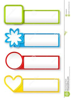 Illustration about Vector colorful paper stickers on white background, file, gradient mesh and transparency used. Illustration of blank, illustration, icon - 33409616