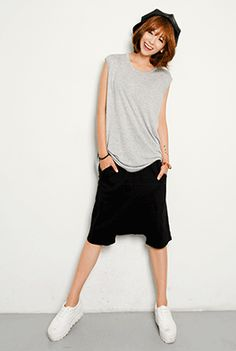 Today's Hot Pick :Pull-On Long Shorts http://fashionstylep.com/SFSELFAA0001879/happy745kren/out High quality Korean fashion direct from our design studio in South Korea! We offer competitive pricing and guaranteed quality products. If you have any questions about sizing feel free to contact us any time and we can provide detailed measurements.