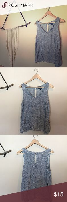 Lucky brand tank blouse Can be ironed or worn crinkly as a style. Super cute with a pair of jeans and wedges with a lunch hat!                              • • • 30% off of bundles of 3+, free gifts (vintage, new, or handcrafted) with every purchase, and negotiable prices on every sale. • • • Lucky Brand Tops Blouses