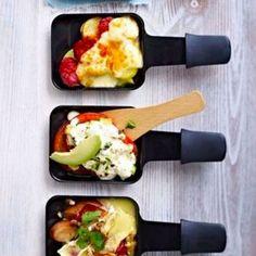 recette raclette legumes
