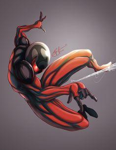 scarlet spiderman | Scarlet Spiderman - Spiderman Collection by gidge1201